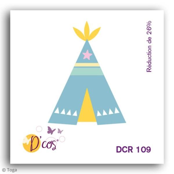Die D'COS Tipi - 2,7 x 3,5 cm - Photo n°2