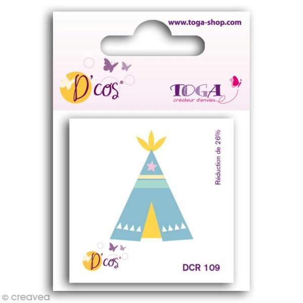 Die D'COS Tipi - 2,7 x 3,5 cm - Photo n°1