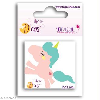 Die D'COS Licorne - 5 x 4 cm