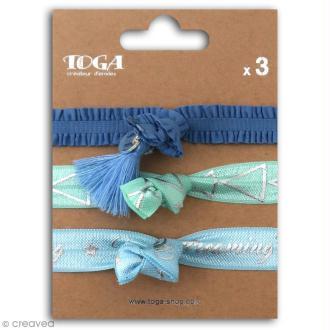 Set de bracelets élastiques - Ice - 3 pcs