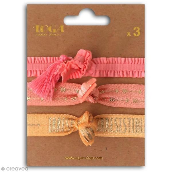 Set de bracelets élastiques - Juicy - 3 pcs - Photo n°1