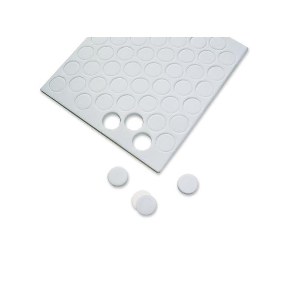 544 pastilles autocollantes rondes de mousse 3D 3mm - Photo n°1
