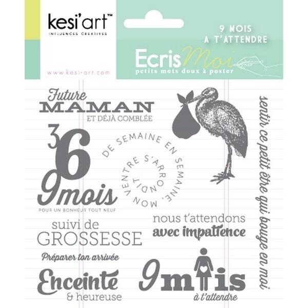 Tampons transparents 9 mois Kesi'art - Photo n°1