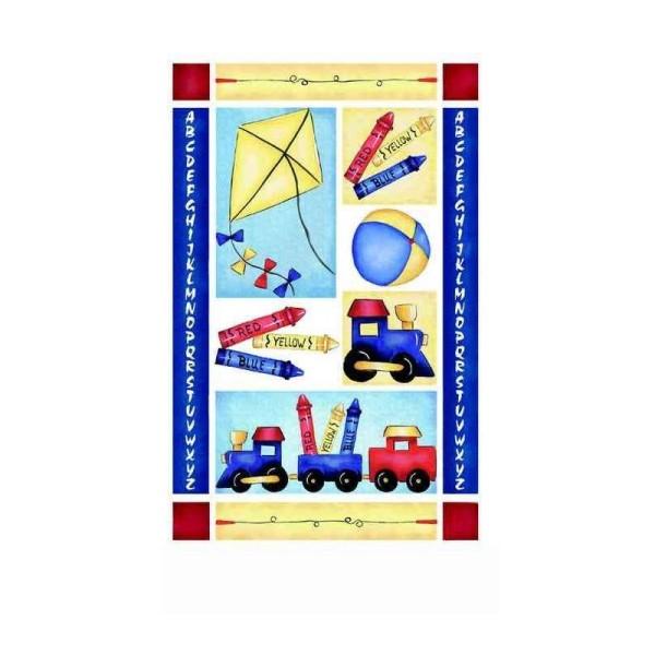Transfert rub-on bloc jouets - Photo n°1