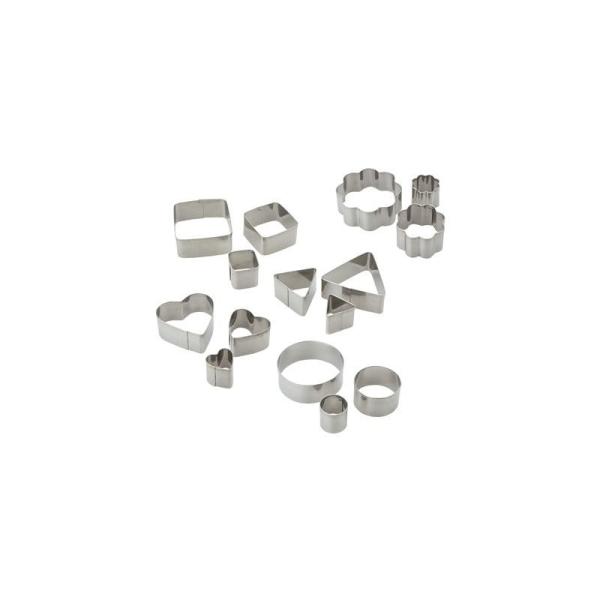 15 emporte pièces métal assortis DTM - Photo n°1