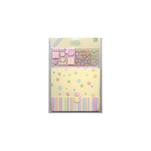Mini book : kit baby girl - Photo n°1