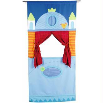 HABA Théâtre de marionnettes de porte 78 x 170 cm 007281