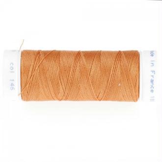 Fil polyester 100m orange n°146 bucksin - Qualité professionnelle
