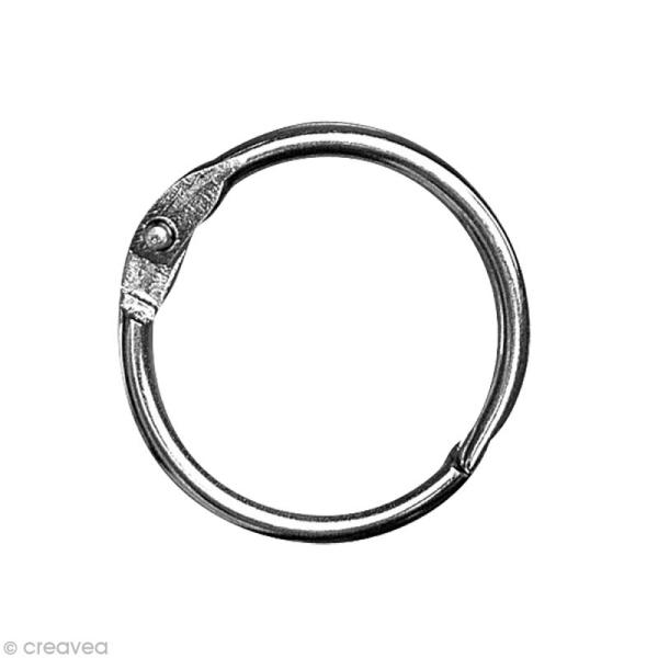 Anneaux porte clé 14 mm - 12 anneaux - Photo n°1