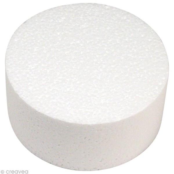 Disque en polystyrène Diamètre 10 cm - Photo n°1
