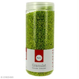 Gravillon décoratif vert mai 930 g