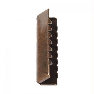Pince de finition ceinture et sangle 30mm - Laiton antique