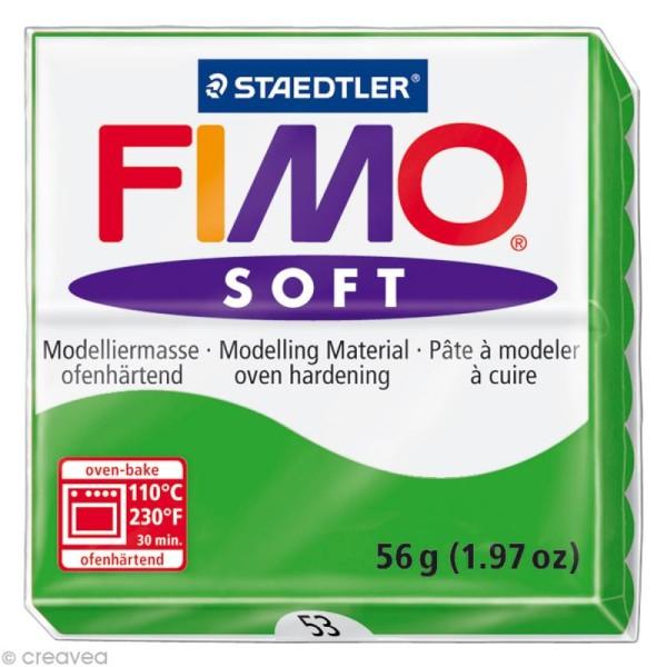 Pâte Fimo soft Vert Tropical 53 - 56 gr - Photo n°1