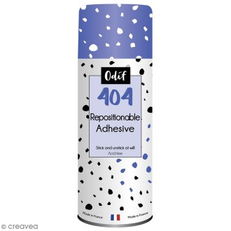 Colle repositionnable tous supports 250 ml
