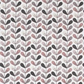 Tissu coton cretonne scandinave - Beige - Largeur 160cm - Vendu par 50cm