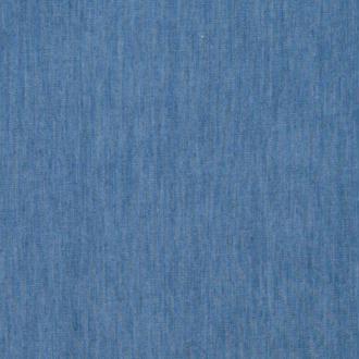 Tissu jean denim léger coton - Bleu - Largeur 145cm - Vendu par 50cm