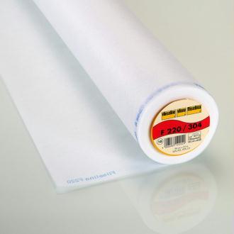 F 220 Entoilage thermocollant standard - Vlieseline®- Par 50cm