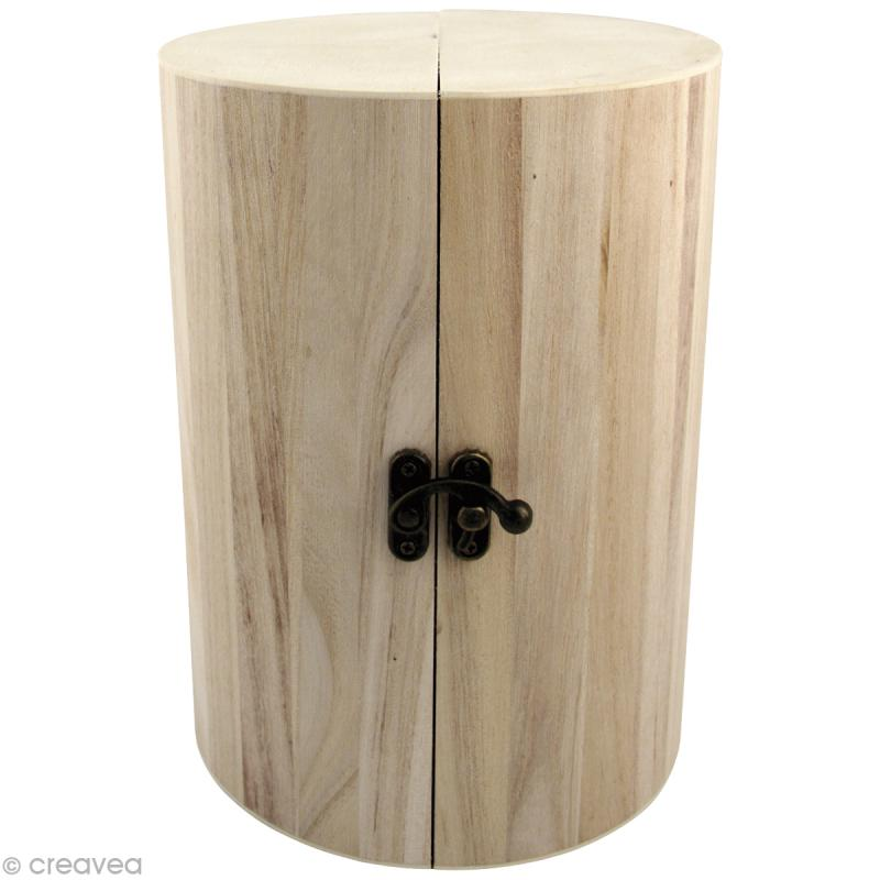 bo te bijoux pliante en bois d corer 21 cm boite. Black Bedroom Furniture Sets. Home Design Ideas