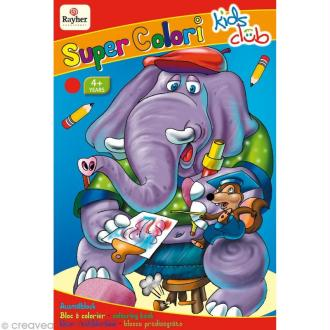 Carnet de coloriage Super colori volume 1