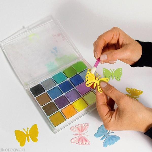 Palette de 20 craies pastels pour scrapbooking - Photo n°3