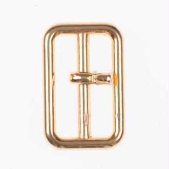 Petite boucle en métal 20mm - Doré brillant