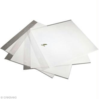 Pochette pour album scrapbooking Rayher 30,5 x 30,5 cm - 5 pcs