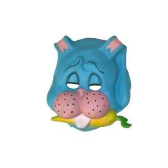 Masque Animal Enfant Vinyle Souple 4 Modèles d'Animaux Masque:Lapin