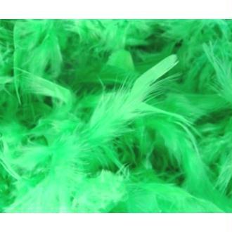 Boa Vert en Plumes 2 Mà¨tres