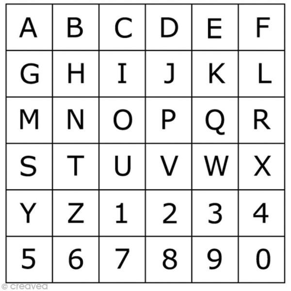 Tampon Alphabet Artemio Times Majuscule 1 5 Cm Tampons Alphabet Creavea