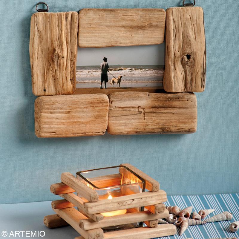 bois flott d co baguettes 7 5 11 5 cm 250 g bois. Black Bedroom Furniture Sets. Home Design Ideas