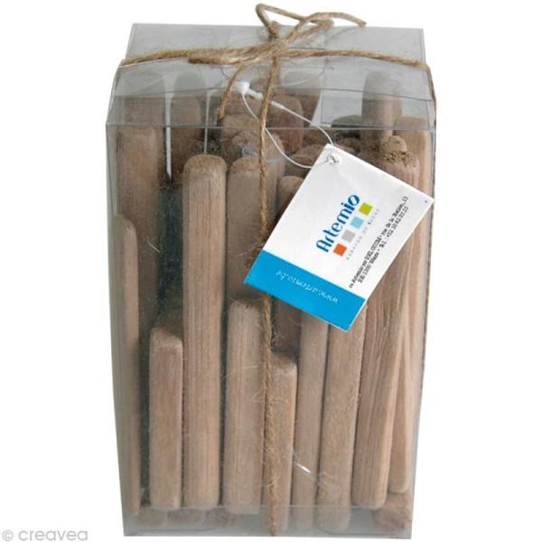 Bois flotté déco - Baguettes 7,5 à 11,5 cm - 250 g - Photo n°1