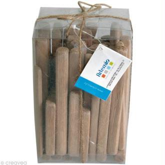 Bois flotté déco - Baguettes 7,5 à 11,5 cm - 250 g