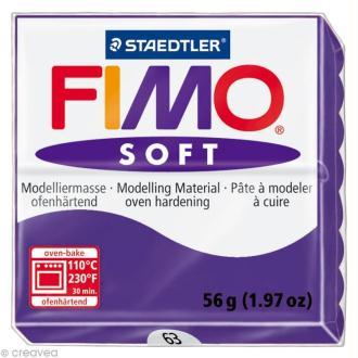 Fimo soft Violet prune 63 - 56 gr