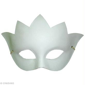 Masque de Venise Loup Couronne