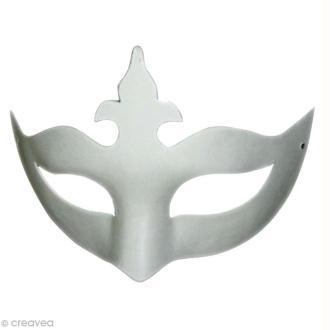 Masque Loup papillon Couronne x 2