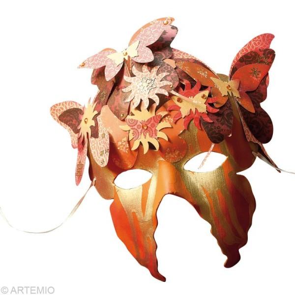 Masque Loup Ailes de papillon x 2 - Photo n°2