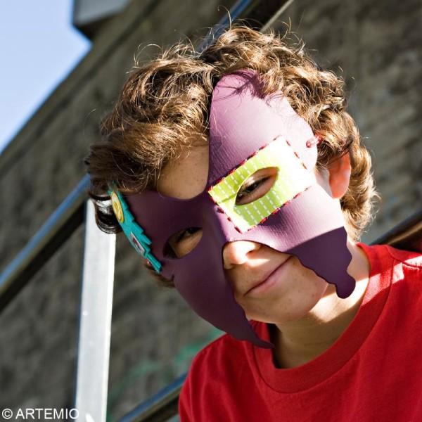 Masque Loup Ailes de papillon x 2 - Photo n°4