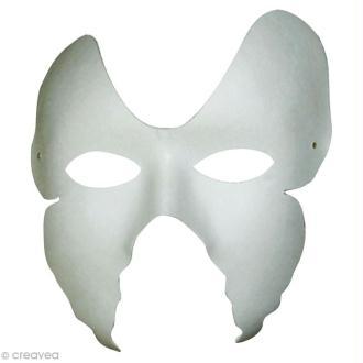 Masque Loup Ailes de papillon x 2