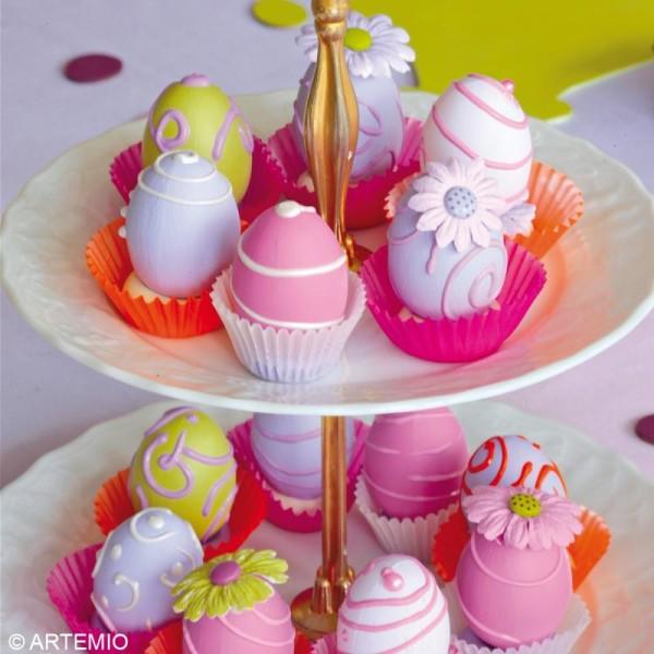 Oeuf de Pâques à décorer x 48 - Photo n°2