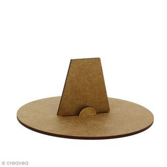 Kit support en bois pour lettres géantes - 1 pce