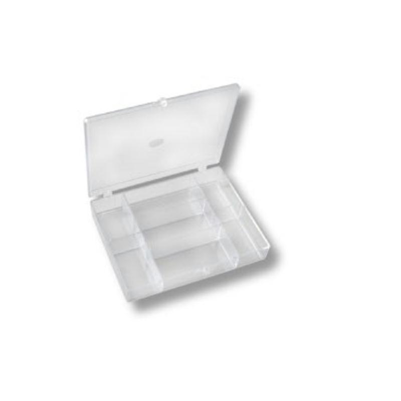 Boite de rangement plastique 7 cases bo te de for Accessoire de rangement cuisine