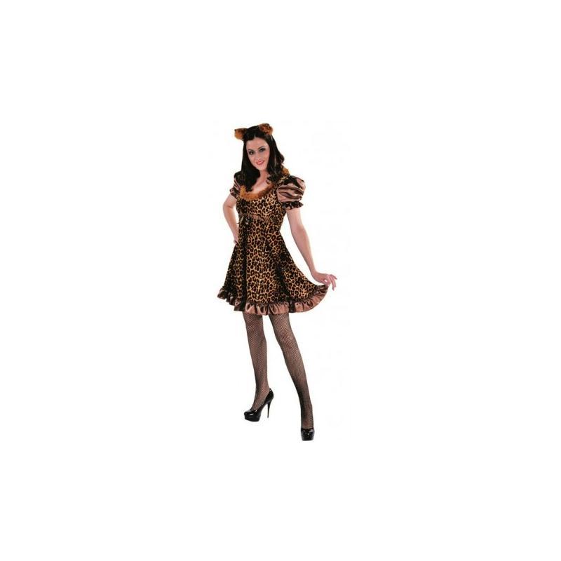 d guisement chat l opard femme pussycat luxe taille s costumes femme creavea. Black Bedroom Furniture Sets. Home Design Ideas