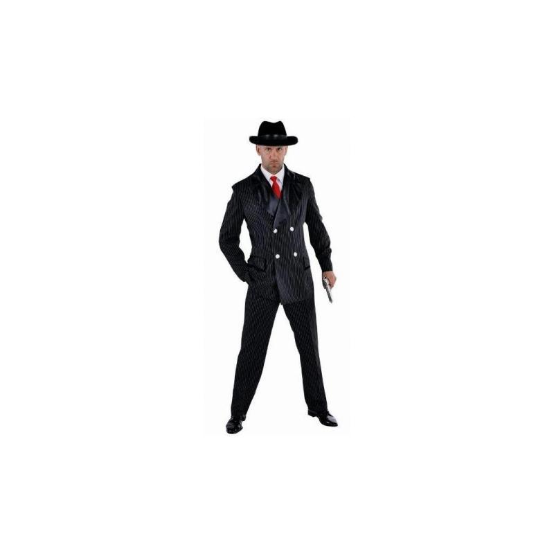 d guisement gangster homme luxe ann es 20 30 taille l costumes homme creavea. Black Bedroom Furniture Sets. Home Design Ideas