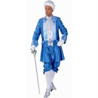 Costume Déguisement Marquis Turquoise Deluxe Adulte