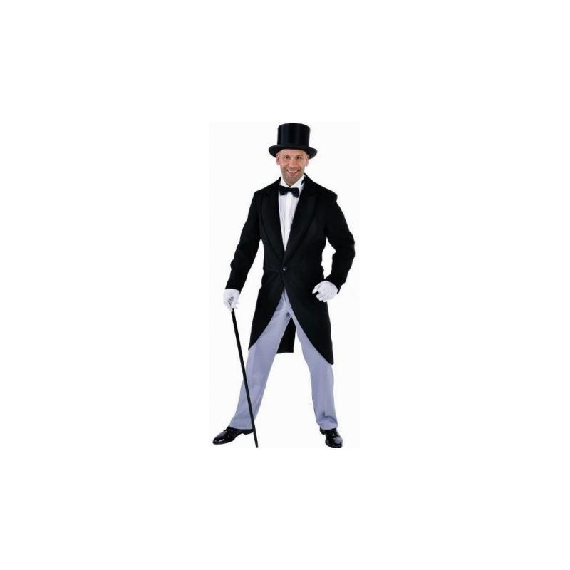 costume queue de pie noire homme luxe taille m costumes homme creavea. Black Bedroom Furniture Sets. Home Design Ideas