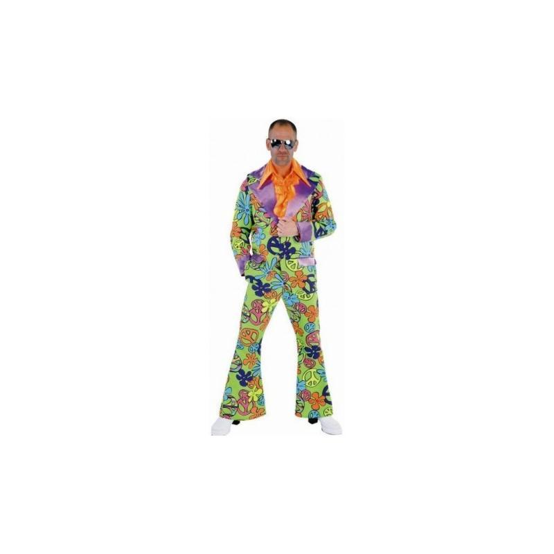 d guisement hippie chic magic peace homme 70 39 s luxe taille m costumes homme creavea. Black Bedroom Furniture Sets. Home Design Ideas