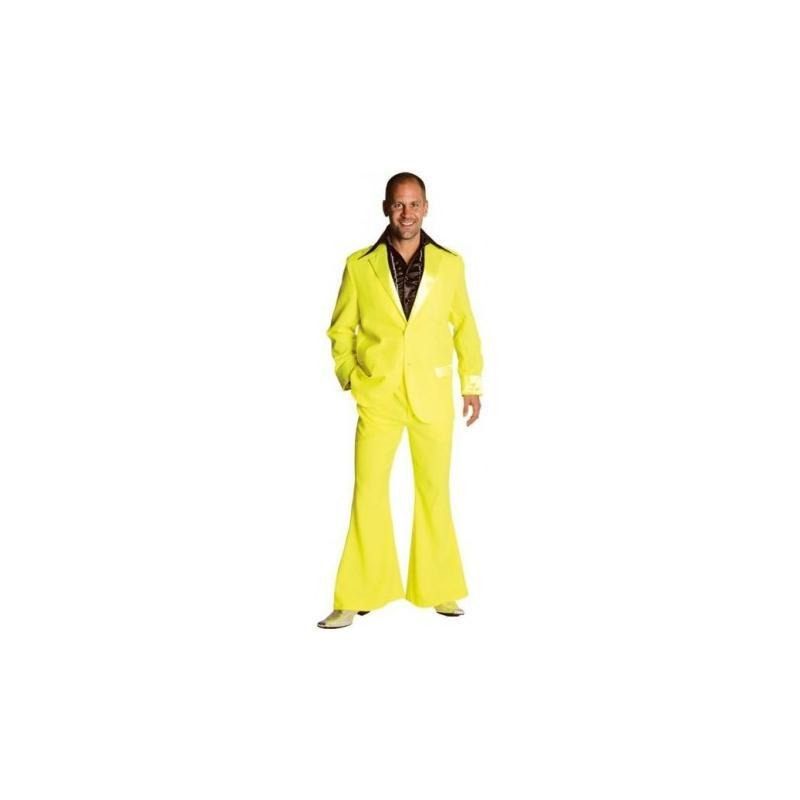 Fluo Costumes Disco Homme L LuxeTaille Jaune Creavea 70's Déguisement qzMpVSU