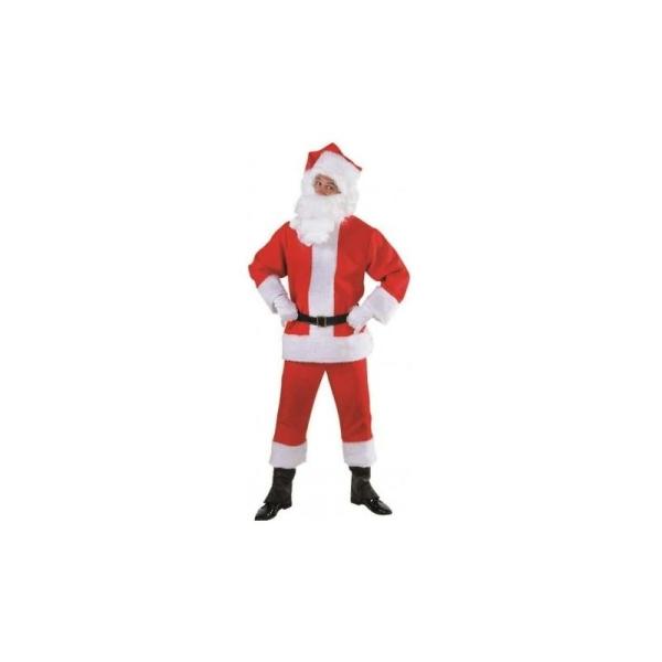 c13709d041f66 Costume Pére Noël Luxe Santa Claus Adulte - Costumes homme - Creavea