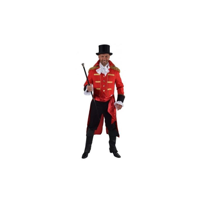images détaillées sur des coups de pieds de vente pas cher Déguisement manteau amiral rouge homme luxe_ Taille XL - Costumes homme -  Creavea