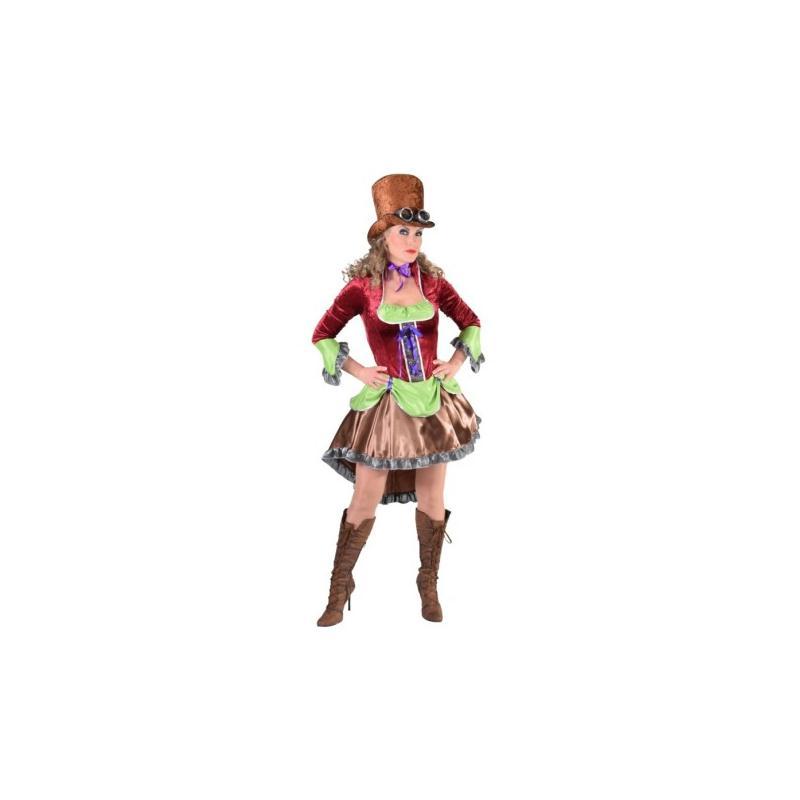 Femmes Professionnel Cosplay Qualité Steampunk Corset Costume Déguisement